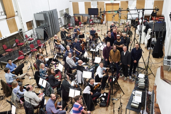 Abbey Road studio 2 - group photo
